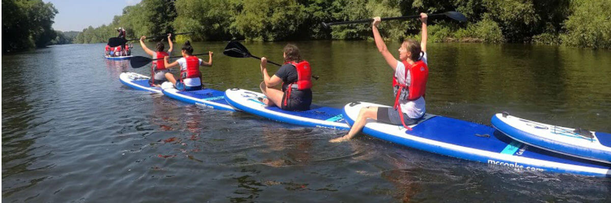 Stand-up  paddleboarding/Canoeing/Kayaking hen party Wye Valley