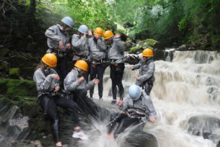 Outdoor adventures for hen and stags Wye Valley