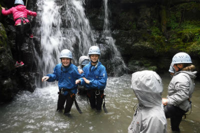 Outdoor activity adventures in the Forest of Dean and Wye Valley for youth groups