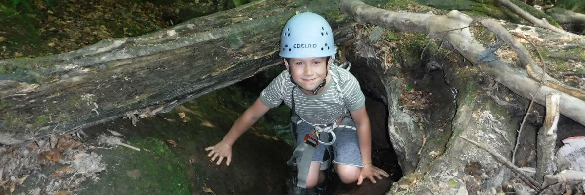 Father and Son adventure weekends away in the Forest of Dean & Wye Valley