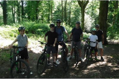 Group father and son adventure weekends away in the Forest of Dean & Wye Valley