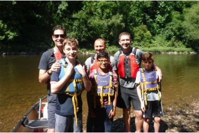 Canoeing Father & Son Adventure days in the Forest of Dean & Wye Valley