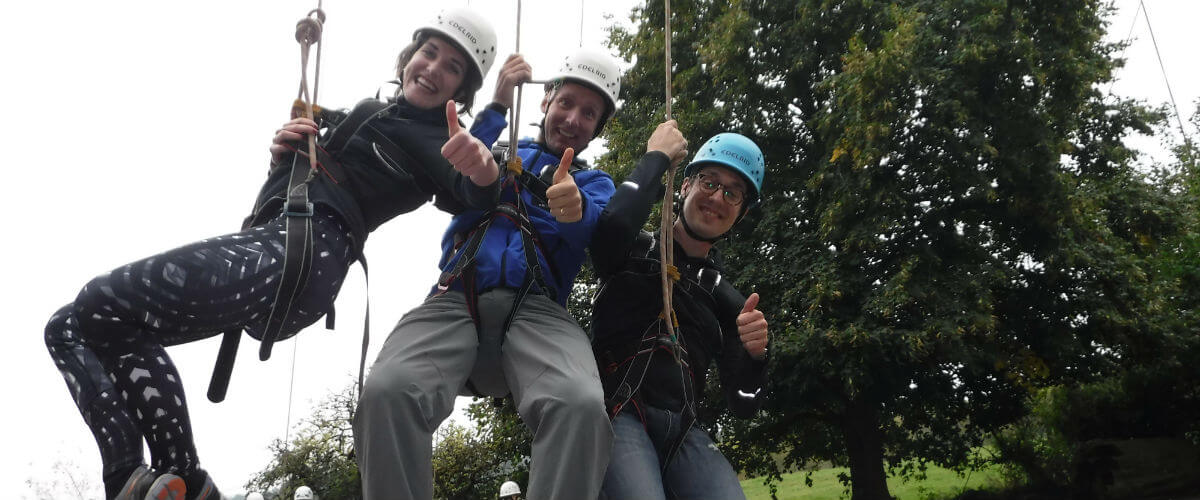 High Level Ropes Adventure perfect for group adventure days