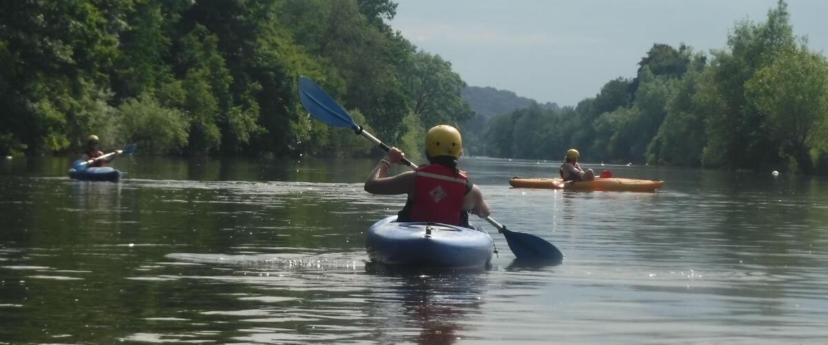 Learn to Kayak on the River Wye in The Wye Valley, Wales