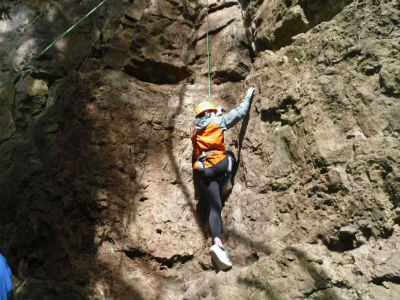 Outdoor adventure activities in the Wye Valley