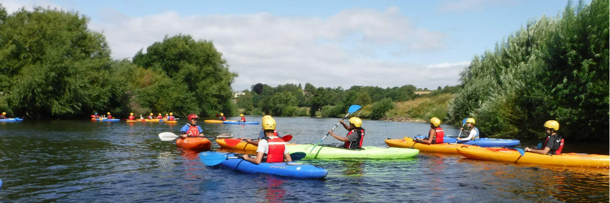Weekend adventure package South Wales Forest of Dean Wye Valley
