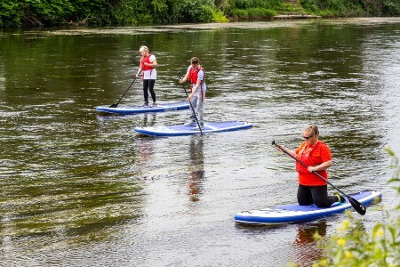 Adventure holiday Monmouthshire Weekend adventure package South Wales