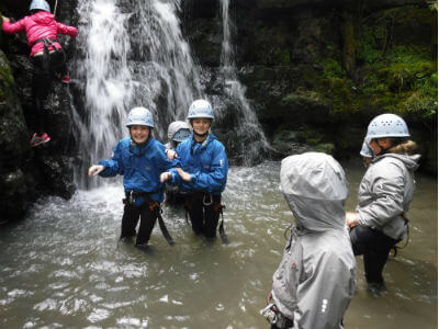 Adventure holiday South Wales Active holidays South Wales