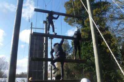 What a High Ropes Course is Really Like